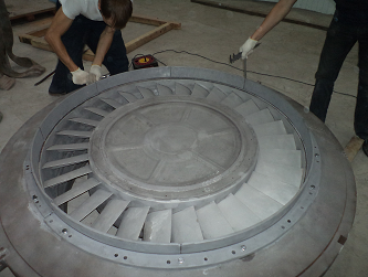 Ремонт корпусных деталей турбин